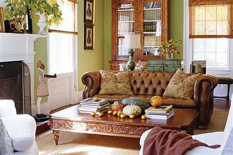 autumn living room decorating autumn inspired home decor the cottage journal