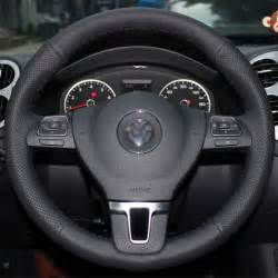 Steering Wheel Covers Volkswagen Jetta Steering Wheel Cover For 09 14 Volkswagen Passat Tiguan Vw