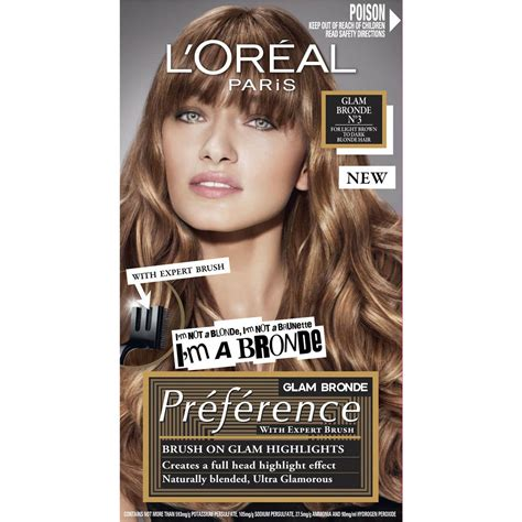 did l oreal completely change l oreal superior preference 3 light brown to each woolworths