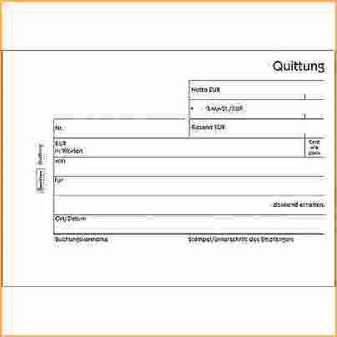 Quittungsvorlage Schweiz 5 Quittungsvorlage Ohne Mwst Bewerbungsschreiben