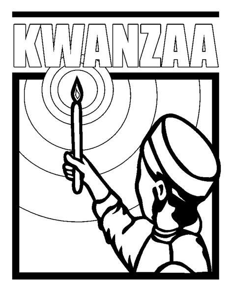 Kwanzaa Coloring Book Pages | kwanzaa kinara coloring page coloring home