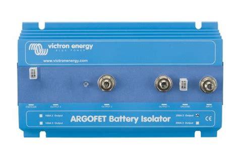 collegamento lade in serie victron ladestromverteiler argofet 200 2 2 batterien 200a