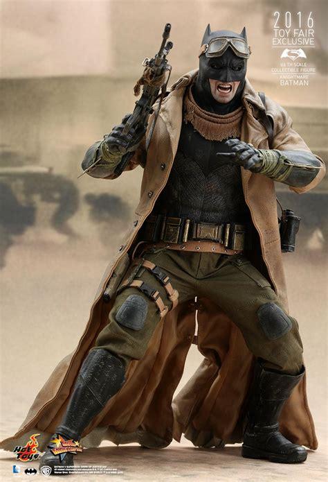 hot toys batman  superman dawn  justice knightmare