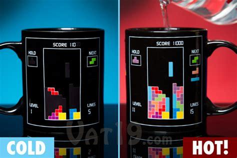 mug design game geek tetris heat change mug coffee mugs on luulla
