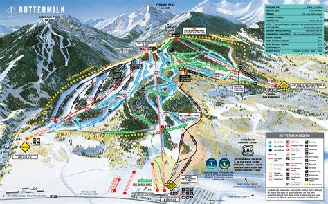 usa ski resort map aspen piste maps and ski resort map powderbeds