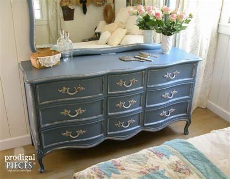 french provincial dresser craigslist okc french country blue my craigslist score prodigal pieces