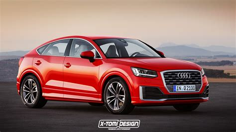 audi q2 gets rendered as coupe like sportback