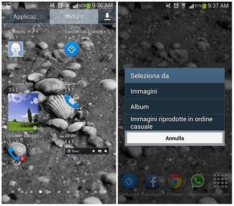 cambiare cornice s4 android per principianti come impostare le foto sulla