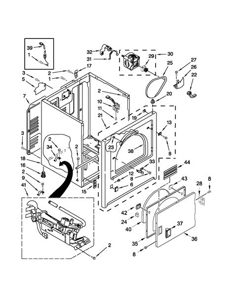 admiral dryer parts diagram admiral 29 quot gas dryer parts model agd4675yq2 sears
