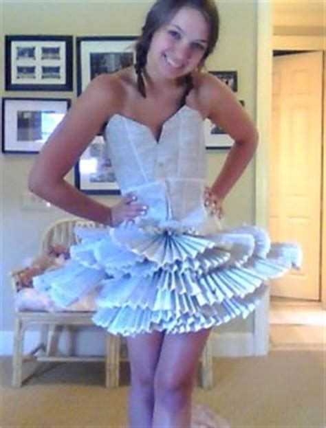 Make A Dress Out Of Paper - caroline layne tea and paper dresses