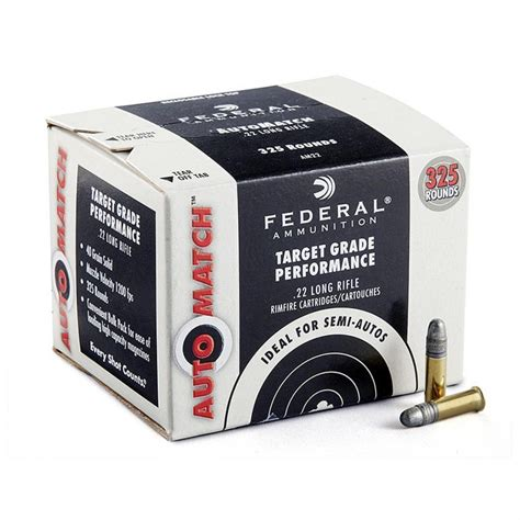 Federal Search Free Federal Premium Chion Automatch 22lr 40 Gr 325 Rd 16 99 Free S H 50