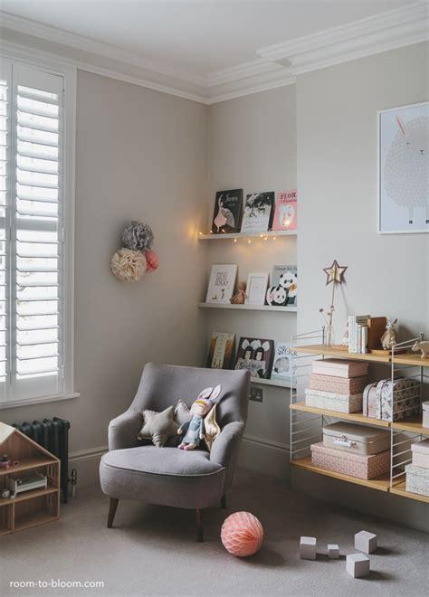 gray girl bedroom girl s bedroom design a room for charlotte room to bloom