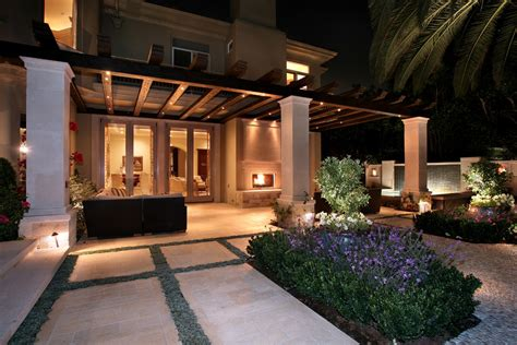 mediterranean backyard landscaping ideas marvelous low voltage landscape lighting in patio