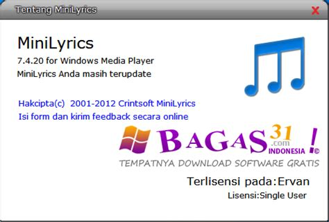 bagas31 kmplayer minilyrics 7 4 2 full loader bagas31 com