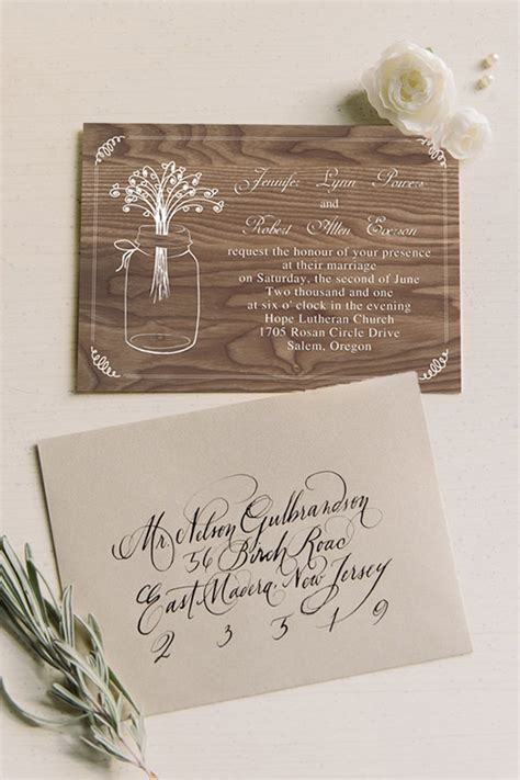 top 10 affordable rustic wedding invitations with free