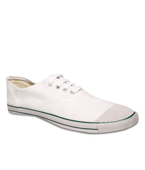 bata organised white tennis shoes for price in india