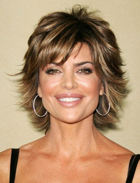 is lisa rinnas hair thick lisa rinna hairstyles hair pinterest lisa rinna