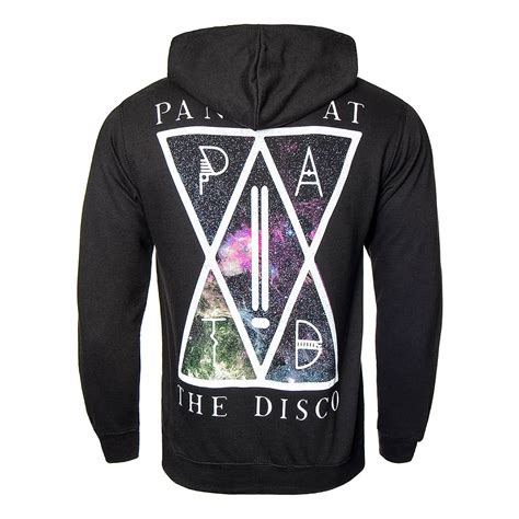 Hoodie Panic At The Disco Geminicloth panic at the disco black nebula hoodie patd band merchandise