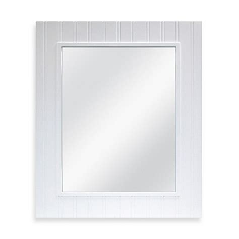 bed bath beyond mirrors buy wainscot mirror in white from bed bath beyond