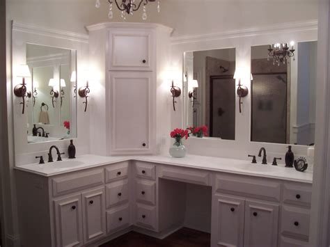 master bath linen cabinet custom built home master bathroom with custom white