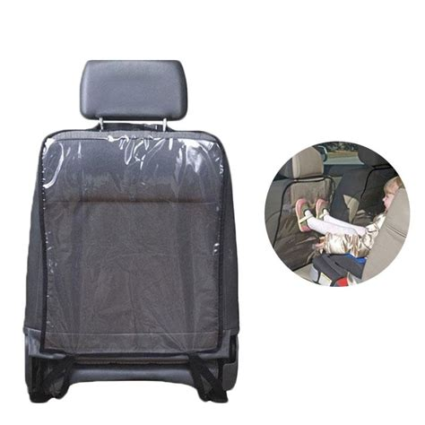 Back Seat Protector For Muddy Kicks Cover Pelindung Jok Limited car auto seat back protector cover backseat for children babies kick mat protects from mud dirt