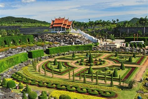 Nong Nooch Botanical Garden Pattaya Sea Views Seafood And On A Budget In Pattaya