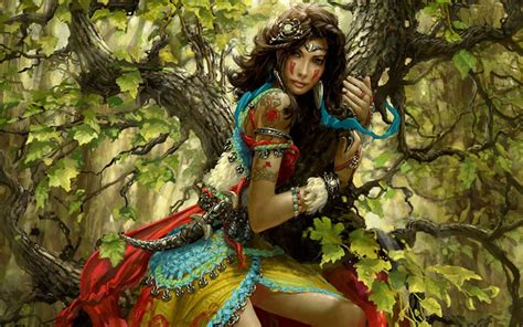 wallpaper vire girl fantasy art warrior women vire gallery photography