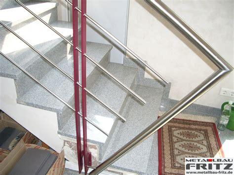 edelstahl treppengeländer innen edelstahl treppengel 228 nder innen 15 02 metallbau fritz