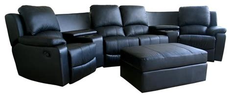 theater seating sectional sofa leather home theater seating contemporary sectional sofas