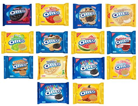 The Flavours Of all the special oreo flavors that been made