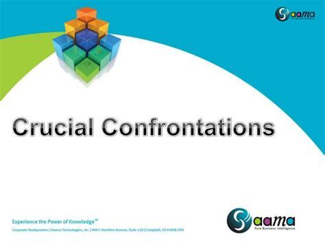 Crucial Confrontation crucial conversations v3