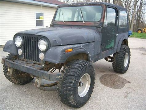 Jeep Cj Project For Sale Sell Used Jeep Cj Truck Wrangler Project Parts Repair In