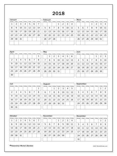 Almanacka R 2018 Kalender 2018 K 227 Pa 28 Images Gratis Illustration