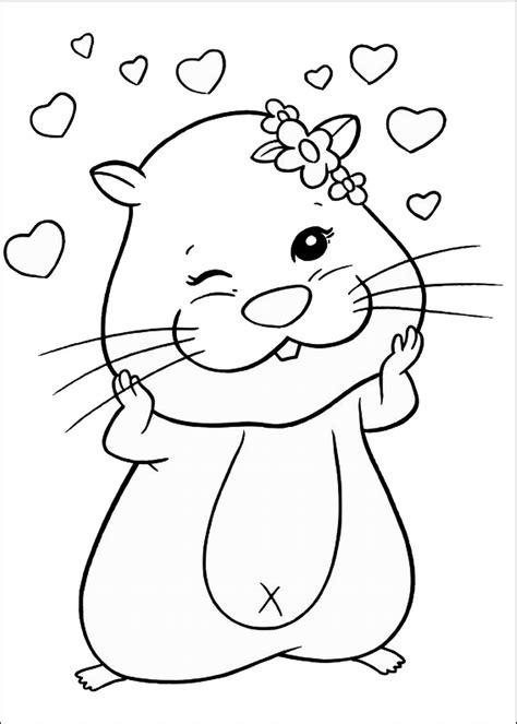 zhu zhu pets coloring pages