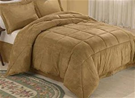 microsuede down alternative comforter com camel microsuede down comforter alternative 4