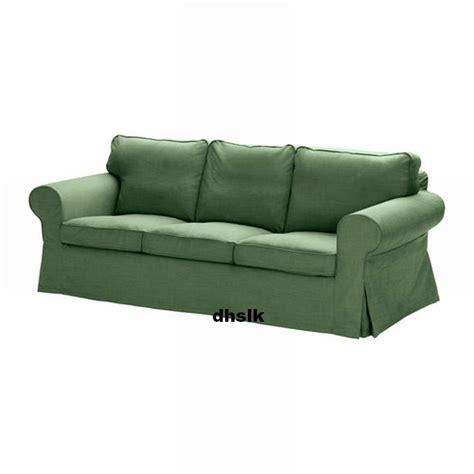 green slipcovers ikea ektorp 3 seat sofa slipcover cover svanby green linen