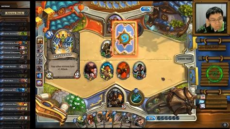 Hearthstone Beast Deck by Hearthstone Arena With Beast Heavy Deck