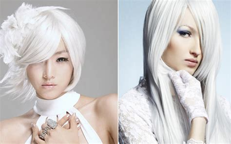 whats the trend for hair white hair dye hair color trends