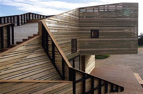 creative contemporary all wood hillside home design creative contemporary all wood hillside home design