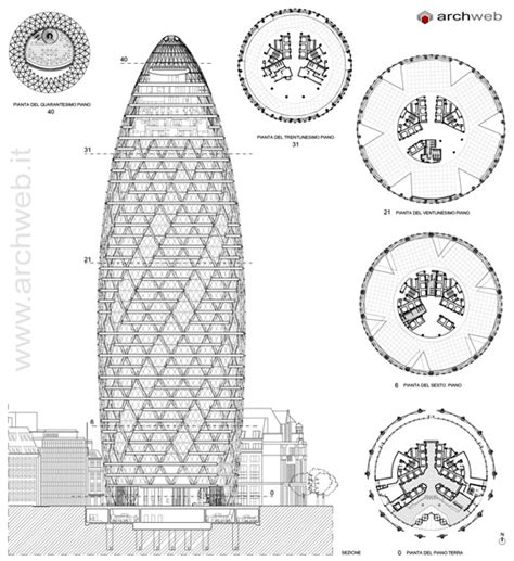 30 st mary axe floor plan 30 st mary axe swiss re tower drawings