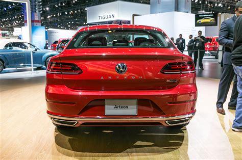 volkswagen arteon rear 2019 volkswagen arteon not a hatch execs insist motor