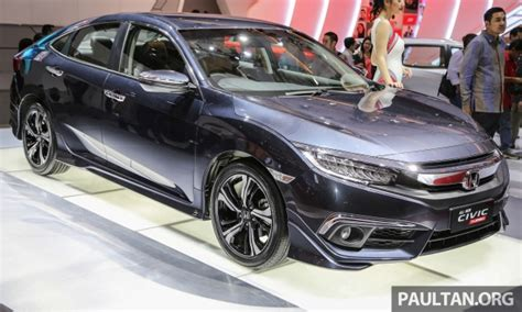 turbo honda civic 2016 iims 2016 new honda civic launched 1 5l turbo only
