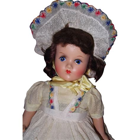 composition doll pretty 20 quot composition doll from mydollymarket2 on