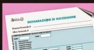 dichiarazione prima casa successione dichiarazione e imposta di successione contribuenti