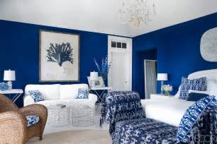 The guestroom is in benjamin moore patriot blue the room has touches