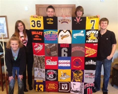 t shirt quilts for family ties project repat t shirt quilts