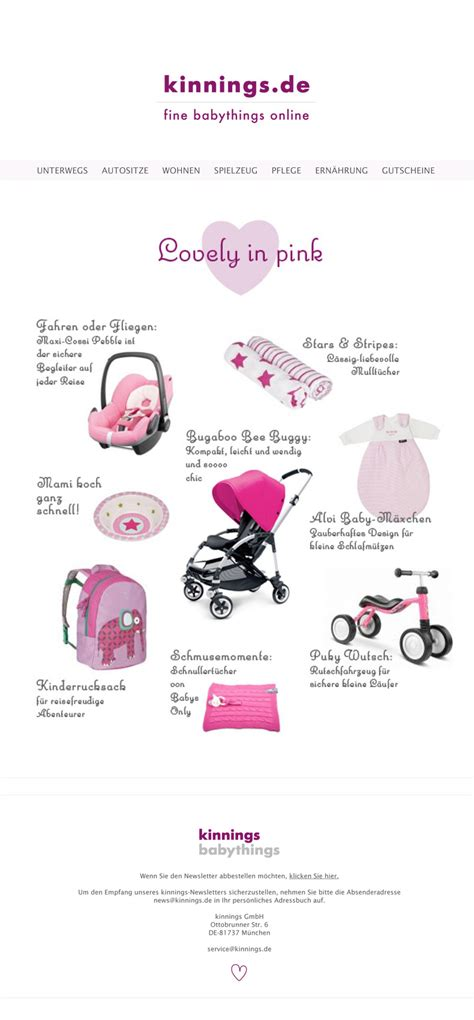 kinnings babythings projekt kinningsbabythings shop usability