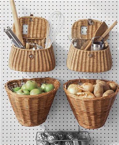 kitchen baskets 8 quick ways to use baskets around the house