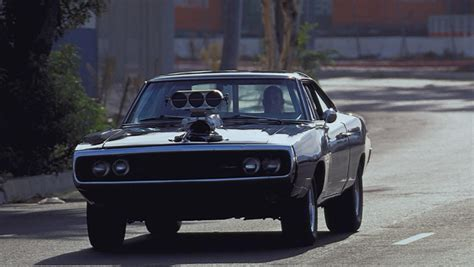 fast and furious black car dom s 1970 dodge charger rt has always been fast furious