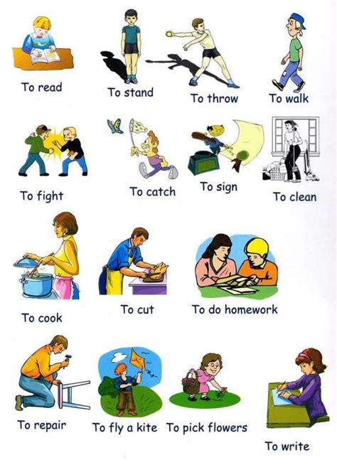 imagenes en ingles verbos imagenes verbos imagui